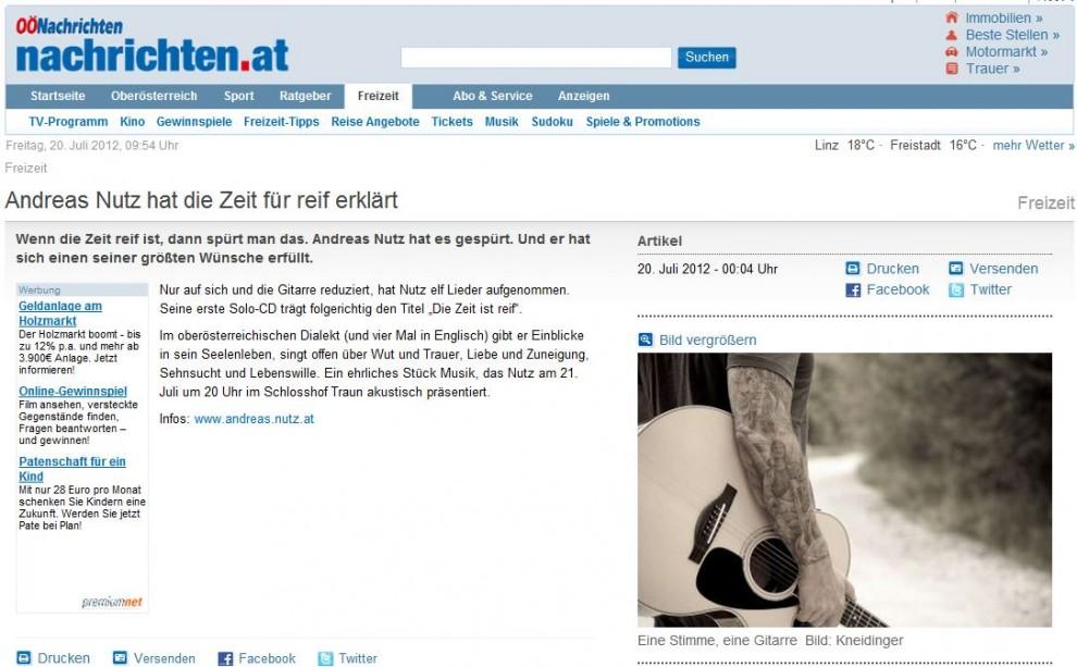 (c) OÖ Nachrichten - Juli 2012